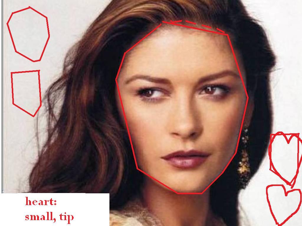 Catherine-Zeta-Jones heart   face shapes 101 Catherine Zeta Jones