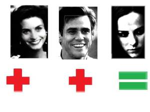 Courtney Cox Jim Carrey Jena Malone