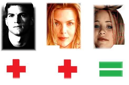Image result for Mary-Kate Olsen Michelle Pfeiffer Kutcher face shapes 101