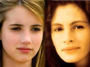Emma Roberts Vs Jessica Chastain Face Shapes 101