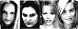 Heather Graham Vinessa Shaw Rachel McAdams Elizabeth Banks (All share similar facial dimension of Rachel McAdams)