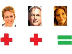 Jamie Lee Curtis Mark Harmon Mandy Moore