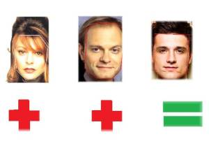 Janes Leeves & David Hyde Pierce=Josh Hutcherson