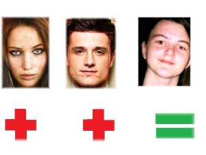 Jennifer Lawrence Josh Hutcherson Me