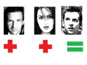 Image result for bradley cooper ralph fiennes face shapes 101
