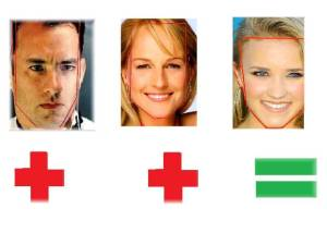 Tom Hanks & Helen Hunt=Emily Osment