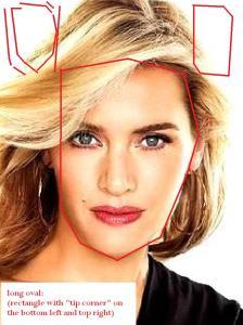 Kate Winslet long oval