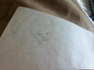 Daniel Radcliffe (5) expressions sketch mischevious