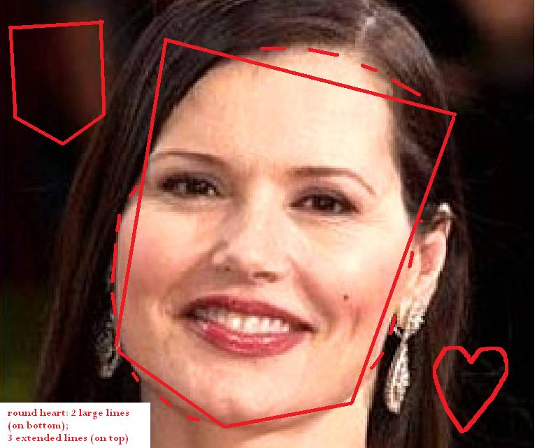 For geena davis cum facial