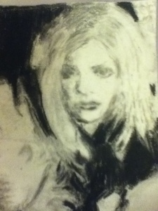 2nd trial of drawing Sarah Michelle Gellar