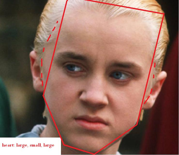 Tom Felton heart | fac...