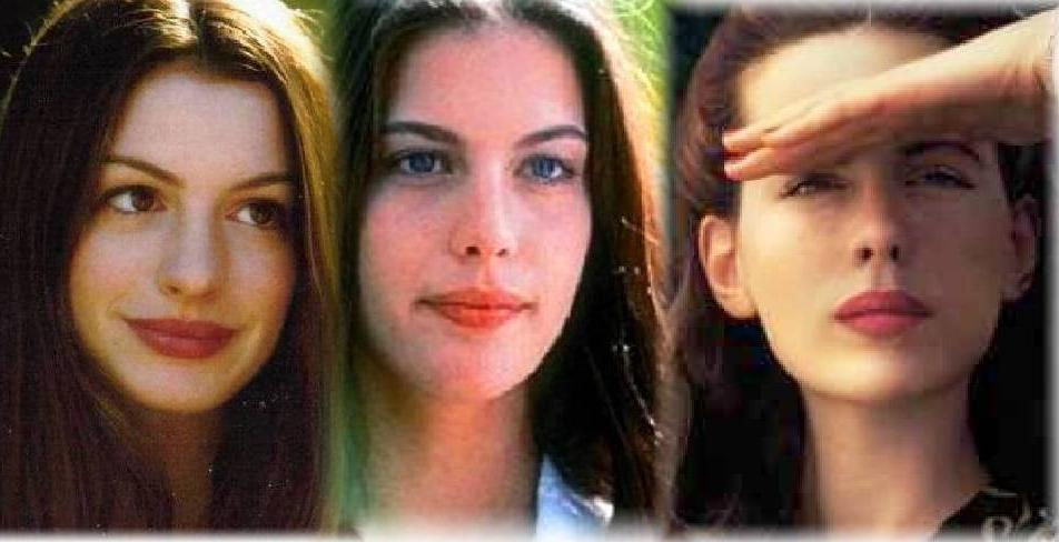 Cool Anne Hathaway Liv Tyler Kate Beckinsale Face Shapes 101 Natural Hairstyles Runnerswayorg