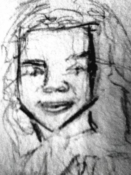 closeup Michelle Pfeiffer quicksketch