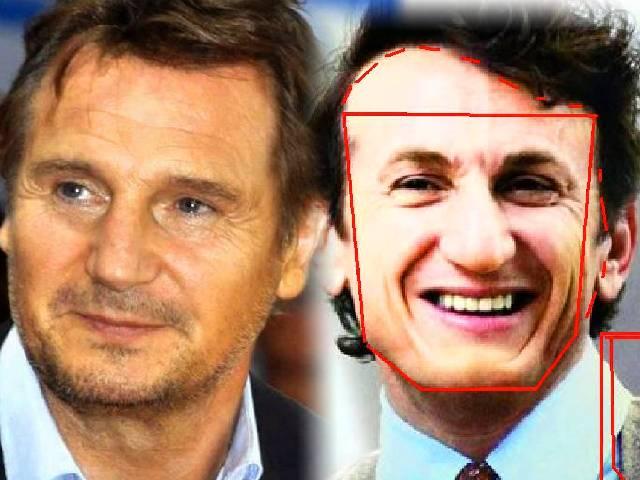Sean Penn Liam Neeson | face shapes 101