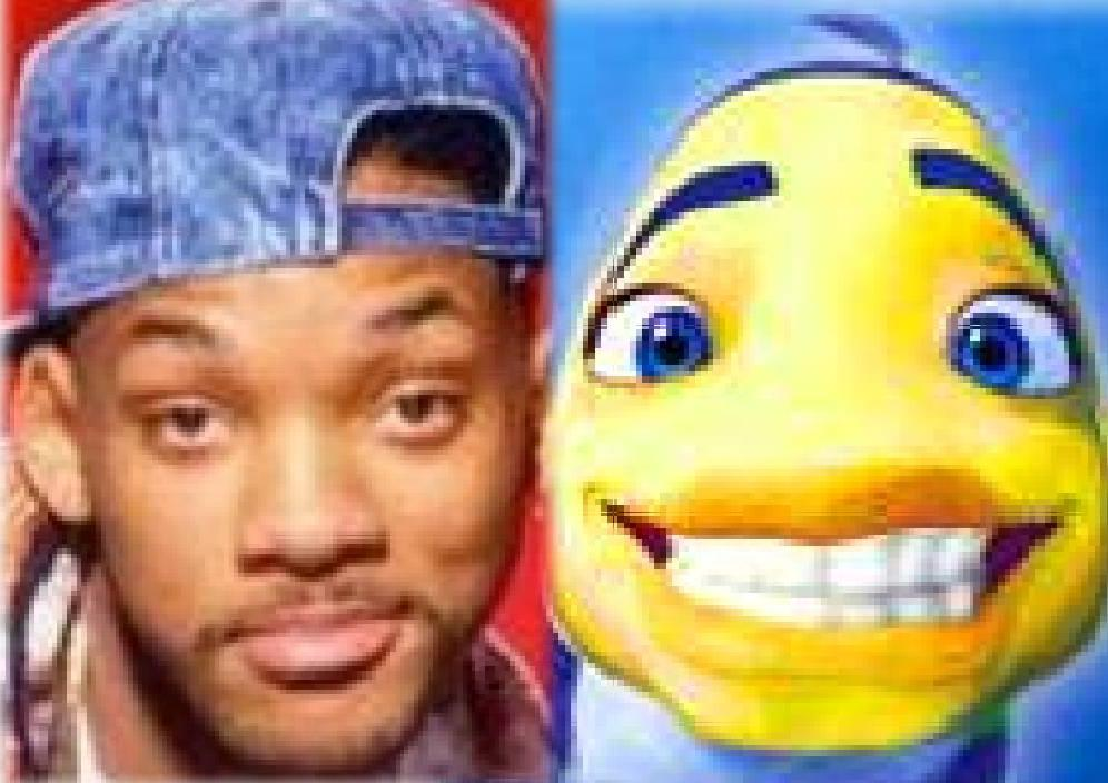 Cartoon Fish Face Will Smith Fish Face
