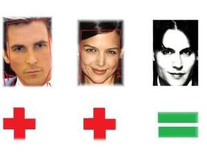 Christian Bale & Katie Holmes=Johnny Depp