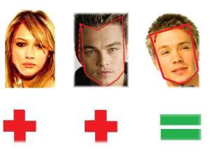 Hilary Duff & Leonardo DiCaprio=Chad Michael Murray