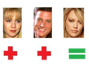 Jennie Garth Simon Rex Hilary Duff