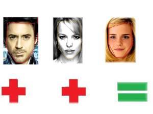 Robert Downey Jr Rachel McAdams Emma Watson