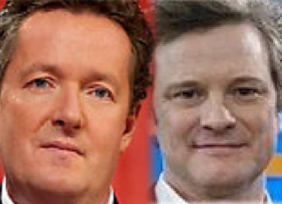 Colin Firth Pierce Morgan Face Shapes 101