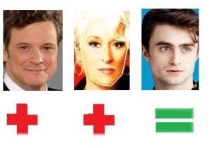 Colin Firth Meryl Streep Daniel Radcliffe