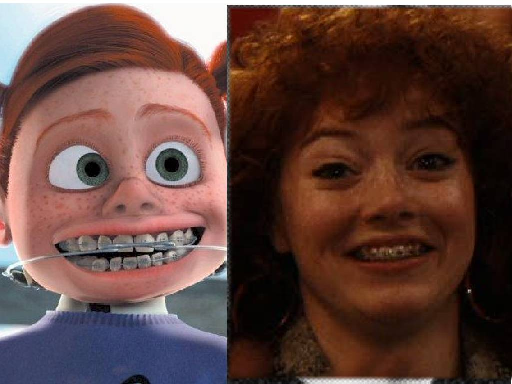 ginger girl from finding nemo Meet the characters from disney's the incredibles.