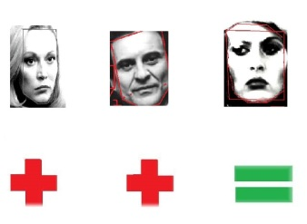 Cathy Moriarity & Joe Pesci=Faye Dunaway
