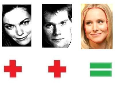 Diane Lane & Kevin Bacon=Kirsten Bell