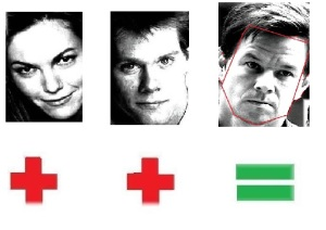 Diane Lane & Kevin Bacon=Mark Walberg