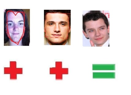 Image result for josh hutcherson asa butterfield face shapes 01