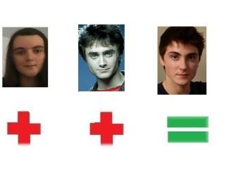 Me & Daniel Radcliffe=Noah Silver