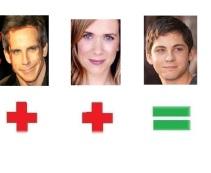 Ben Stiller & Kirsten Wiig=Logan Lerman