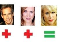 Ben Stiller & Kirsten Wiig=Lucy Punch