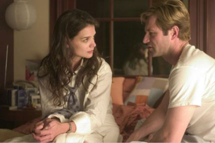 Image result for Katie Holmes and Aaron eckhart