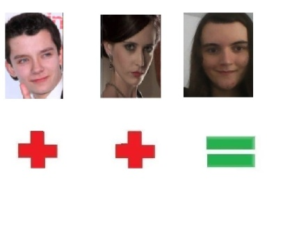 Asa Butterfield & Eva Green=Me