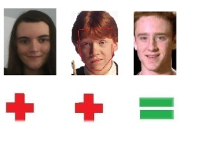 Image result for rupert grint ben foster face shapes 101