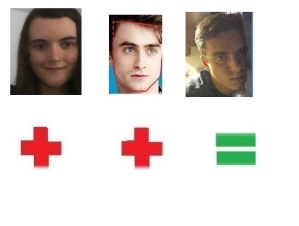 Me & Daniel Radcliffe=This unknown Jude Law-Noah Silver match