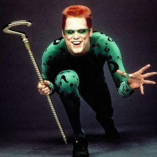 Image result for riddler and chase meridian batman