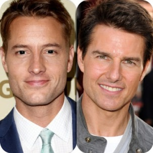 Image result for justin hartley and tom cruise